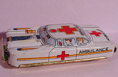 Small Tin Ambulance (Image1)