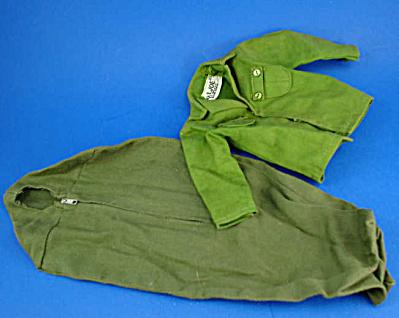 1960s GI Joe Sleeping Bag and Shirt (Image1)