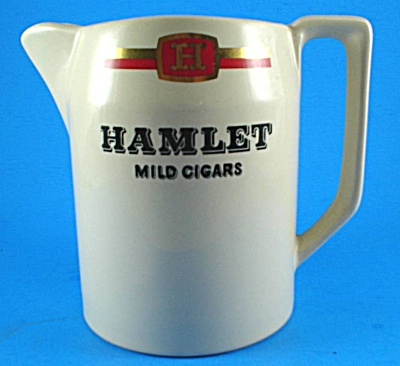 Wade Hamlet Cigars Advertising Pitcher