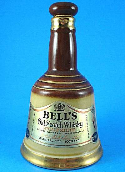 Wade Bells Scotch Whiskey Bell Bottle