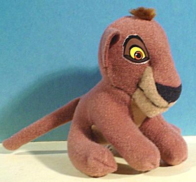 Disney McDonalds Plush Lion Cub from Lion King II (Image1)