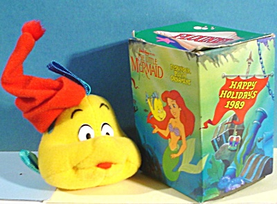 Disney Little Mermaid Fish Ornament, McDonalds 1989 (Image1)