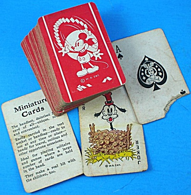 Miniature Disney Playing Cards (Image1)