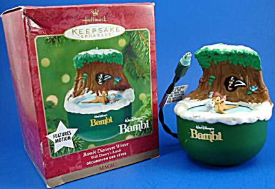 2001 Hallmark Disney Bambi Discovers Winter (Image1)
