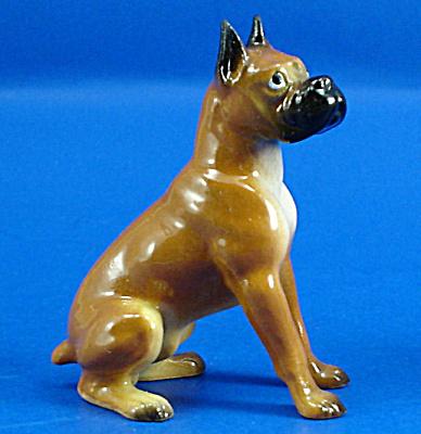 Hagen-Renaker Miniature Boxer Dog (Image1)