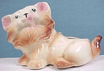 Click here to enlarge image and see more about item a00502: Cat Planter