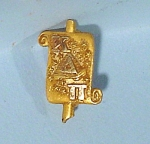 Click here to enlarge image and see more about item a01000: 10kt Gold Fraternity Lapel Pin