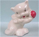1930s/1940s Miniature Pottery Cat