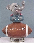 Click here to enlarge image and see more about item a02226: Beam Elephant Football Decanter