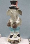 Click here to enlarge image and see more about item a02232: Beam Elephant in a Top Hat
