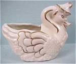 Click here to enlarge image and see more about item a02237: Pottery Mother Goose Planter