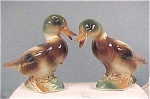 Click here to enlarge image and see more about item a02745: Royal Copley Small Mallard Pair