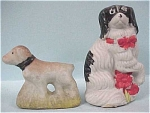 1920s/1930s Japan Bisque Dog Pair