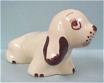 Click here to enlarge image and see more about item a03055: Walker Pottery Dog