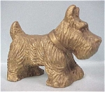 Click here to enlarge image and see more about item a03063: 1940s Scotty Type Dog