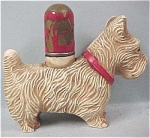 Click here to enlarge image and see more about item a03073: Wood Composite Scottish Terrier Dog Lighter