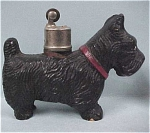 Click here to enlarge image and see more about item a03074: Wood Composite Scottish Terrier Dog Lighter
