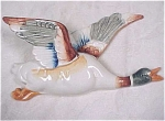 Click here to enlarge image and see more about item a03323: Occupied Japan Wall Pocket Flying Duck