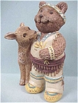 Click here to enlarge image and see more about item a03514: Teddy Bear Tales Bear with Deer