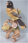 Click to view larger image of Ceramic Japan Birds on Branch (Image1)