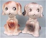 Click to view larger image of 1960s Japan Ceramic Puppy S/P (Image1)