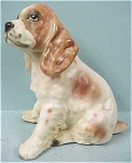 1960s Japan Ceramic Cocker Spaniel Puppy