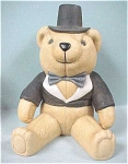 Russ Bone China Bear in Tux