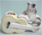 Mini Horse With Guitar Pincushion