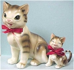 Click to view larger image of Lipper & Mann 1950s Cat & Kitten (Image1)