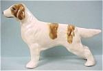 Click here to enlarge image and see more about item a03750: Grindley Pottery of Ohio Setter Dog