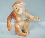 Click to view larger image of 1970s OMC Japan Miniature Bone China Monkey (Image1)
