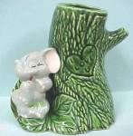 1940s/1950s California Pottery Shy Elephant