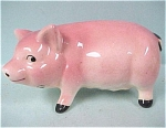 Click to view larger image of 1950s Pink Pottery Pig (Image1)
