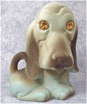 Click here to enlarge image and see more about item a04249: Roselane Sparkler Basset Hound Dog