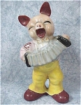 Click here to enlarge image and see more about item a04264: 1930s/1940s Japan Porcelain Pig
