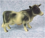 1960s Japan Ceramic Cow Salt Shaker Single