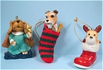 Click to view larger image of Dog Christmas Ornaments (Image1)