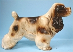 Click to view larger image of 1960s Japan Ceramic Cocker Spaniel (Image1)