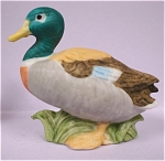 Click here to enlarge image and see more about item a04421: 1980s Lefton Miniature Duck