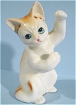 Click here to enlarge image and see more about item a04614: 1980s/1990s Enesco Playing Cat
