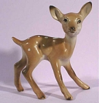 1950s Japan Pottery Miniature Fawn