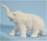 Miniature Pottery Elephant