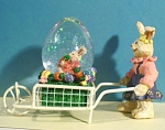 Click here to enlarge image and see more about item a04814: Snowglobe Rabbits