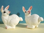 Bone China Running Rabbit S/P Shakers