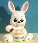 Click here to enlarge image and see more about item a04836: UCGC Bunny Rabbit Painting Easter Egg