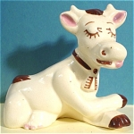Click here to enlarge image and see more about item a04843: Walker Pottery of California Cow