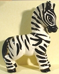 1940s California Pottery Zebra
