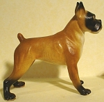 1950s/1960s Bradley Miniature Bone China Boxer Dog