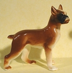 1950s/1960s Miniature Bone China Boxer Dog