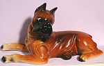 1950s Japan Pottery Boxer Dog